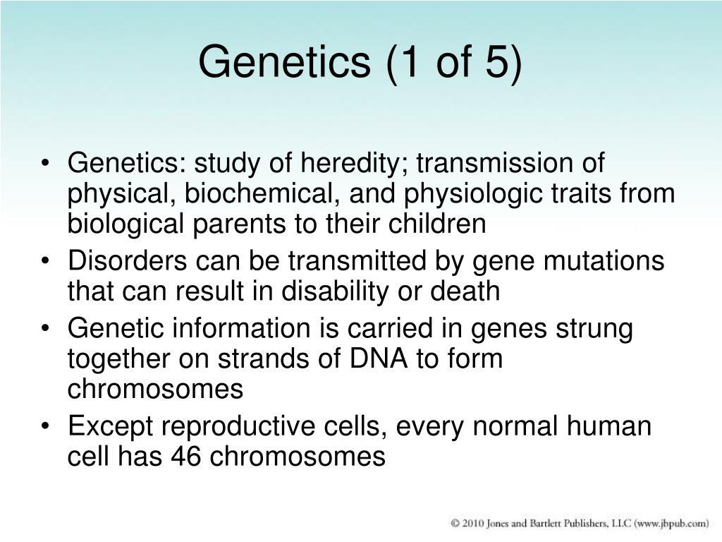 Genetics (1 of 5)