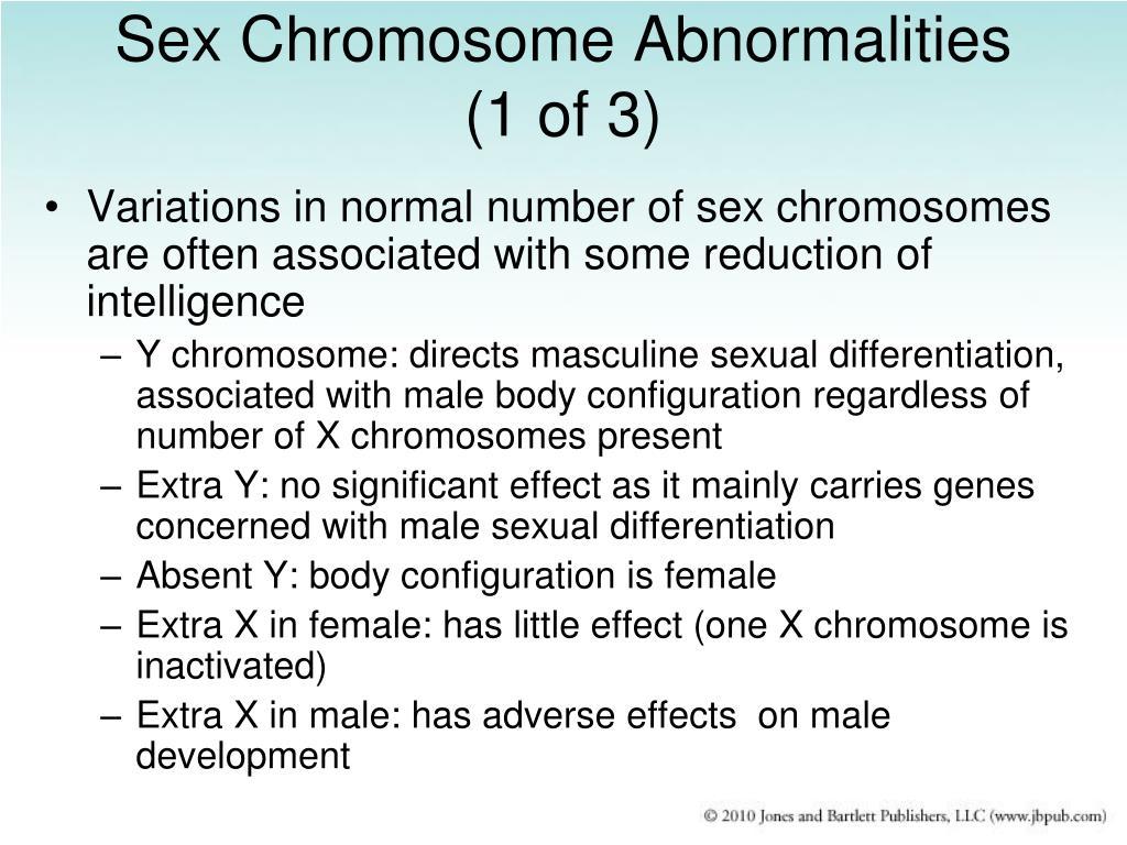 Sex Chromosome Abnormalities