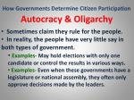 how governments determine citizen participation32