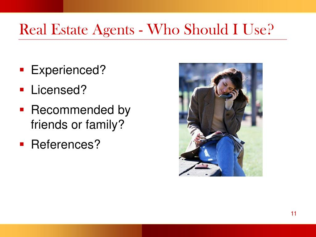 Real Estate Agents - Who Should I Use?