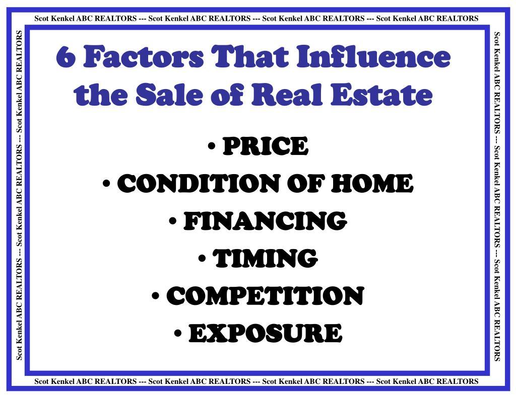 6 Factors That Influence