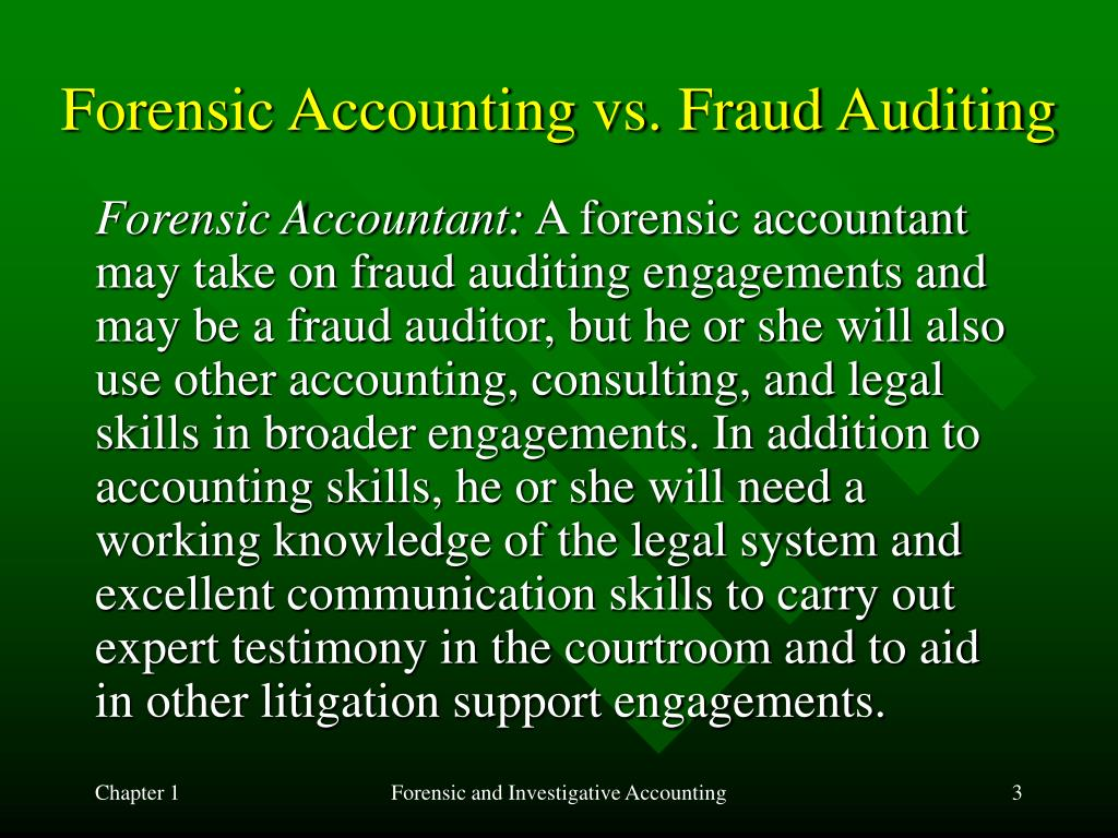 Ppt Forensic And Investigative Accounting Powerpoint Presentation Free Download Id 666036