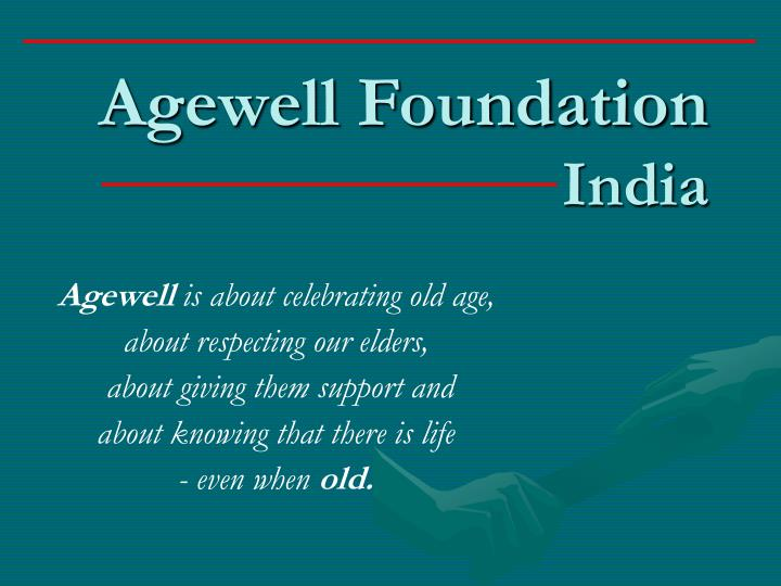 agewell foundation india n.