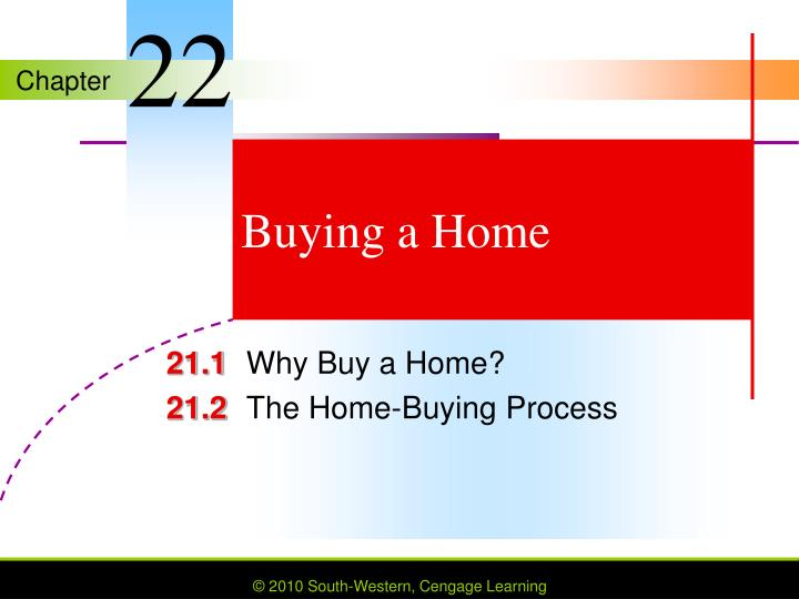buying a home n.