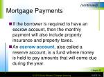 mortgage payments16