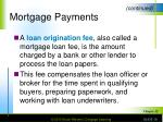 mortgage payments18