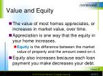 value and equity8