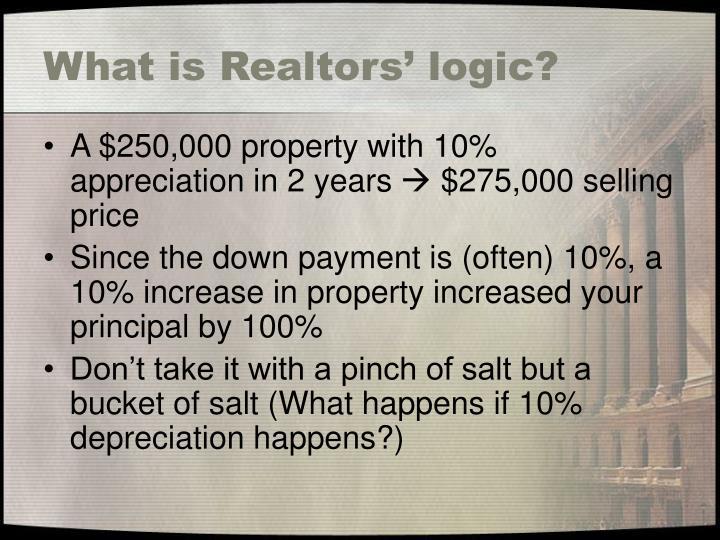 What is realtors logic