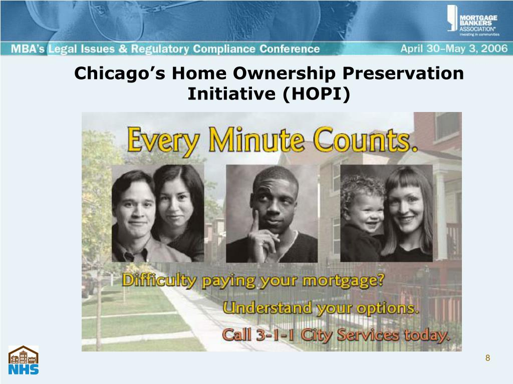 Chicago's Home Ownership Preservation Initiative (HOPI)