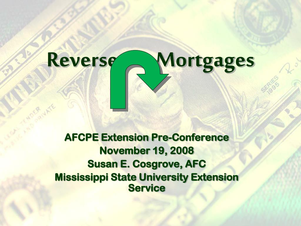 reverse mortgages l.
