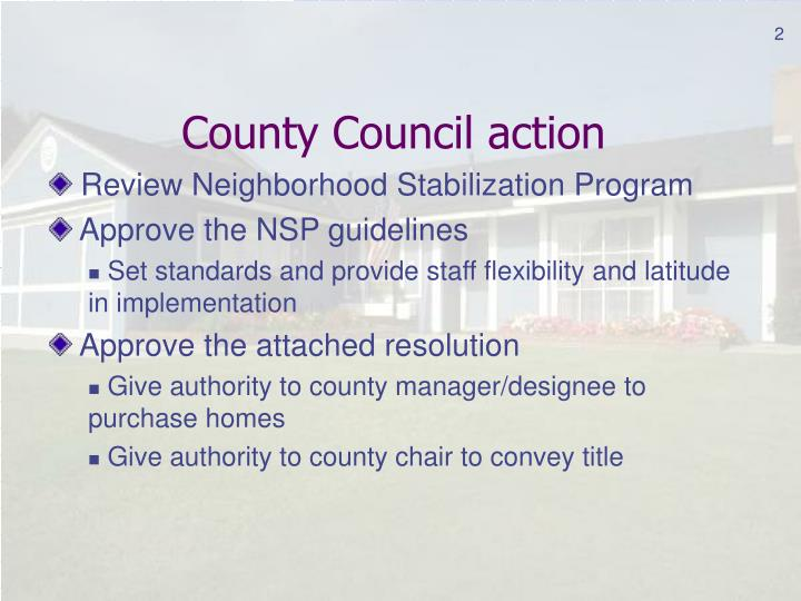Volusia county neighborhood stabilization program guidelinesjune 4