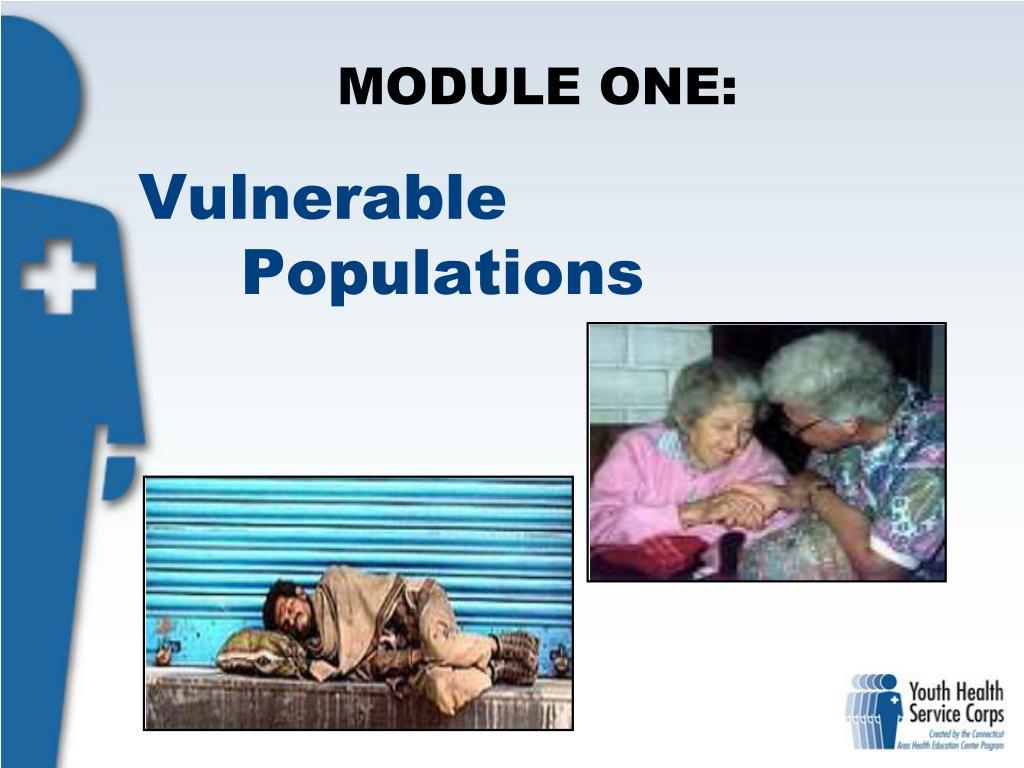 vulnerable populations l.