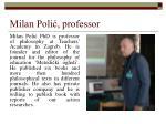milan poli professor