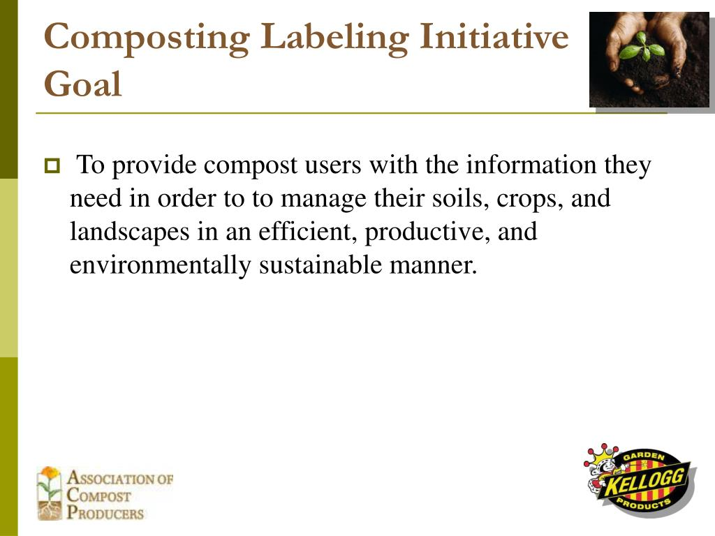 Composting Labeling Initiative