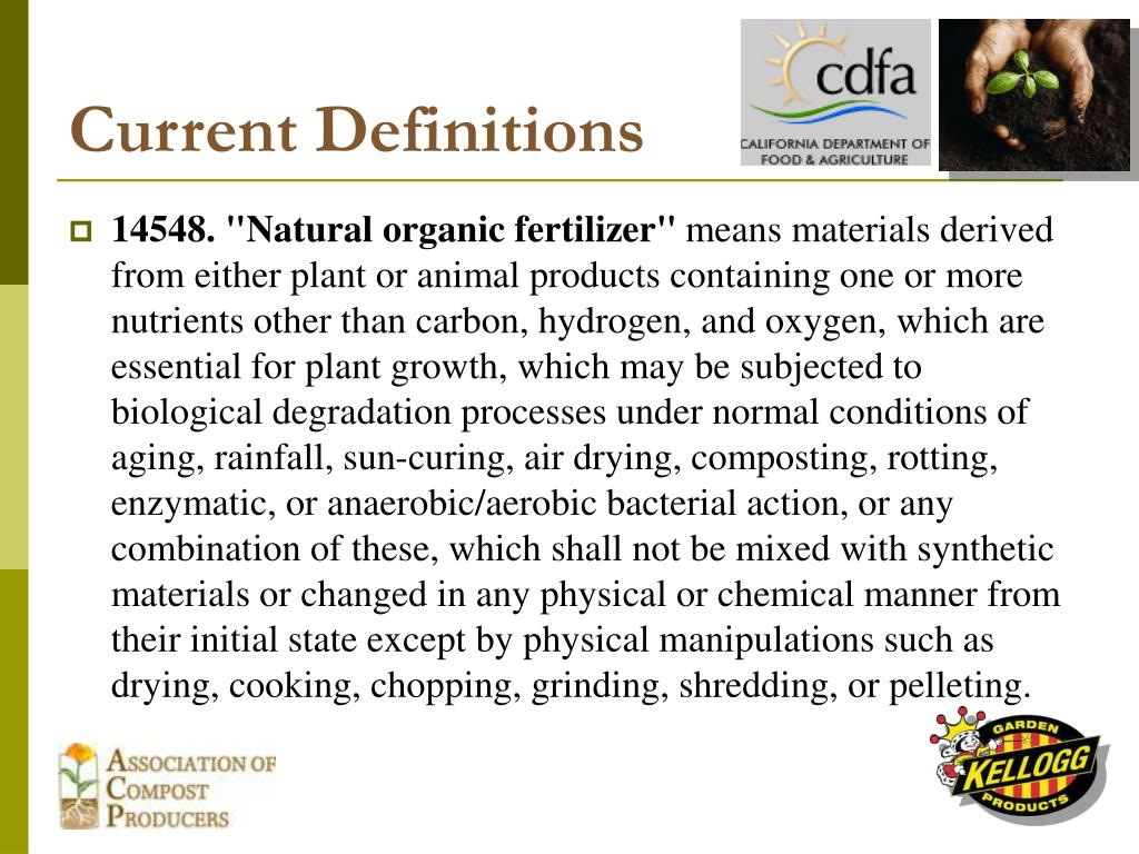 Current Definitions