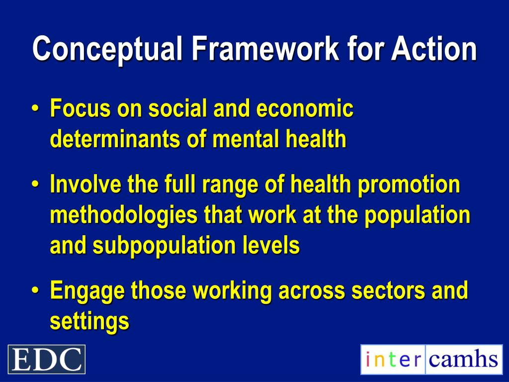 Conceptual Framework for Action