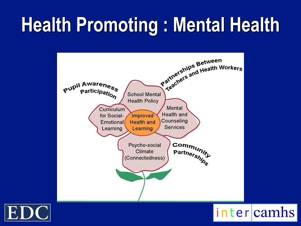 Health Promoting : Mental Health