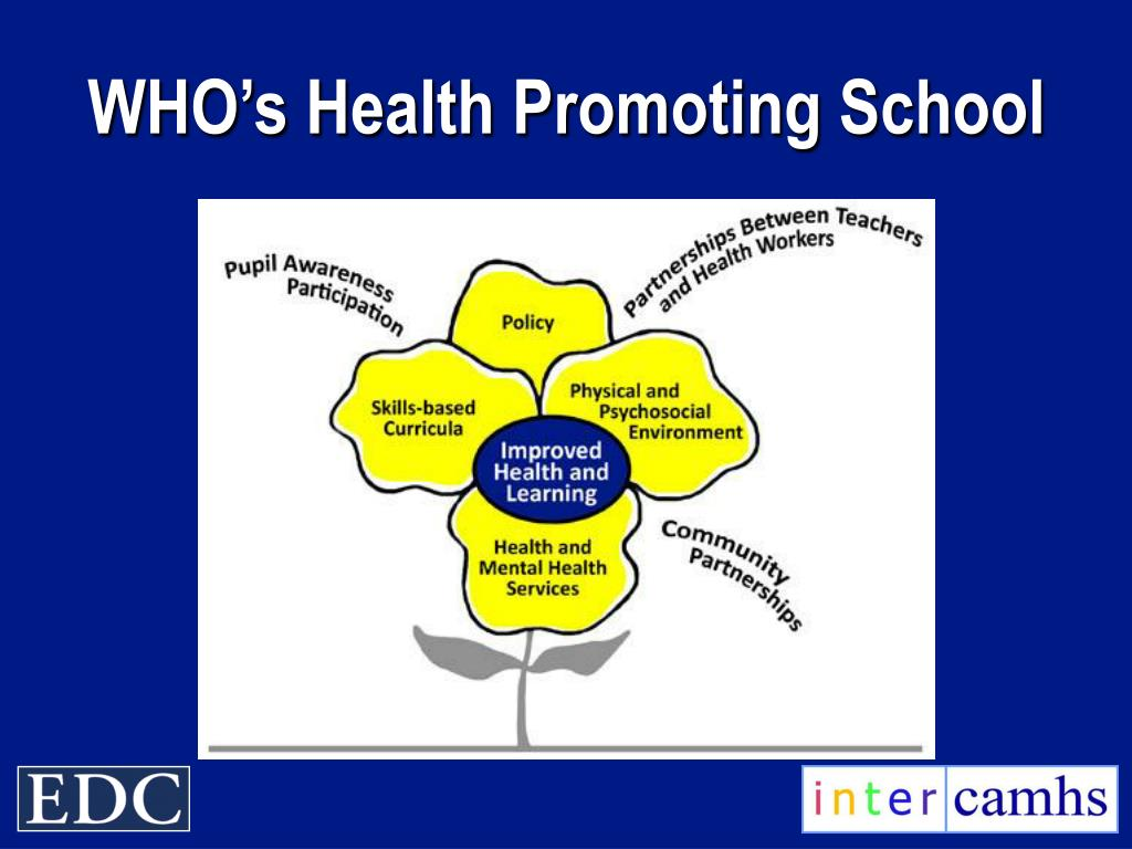 WHO's Health Promoting School