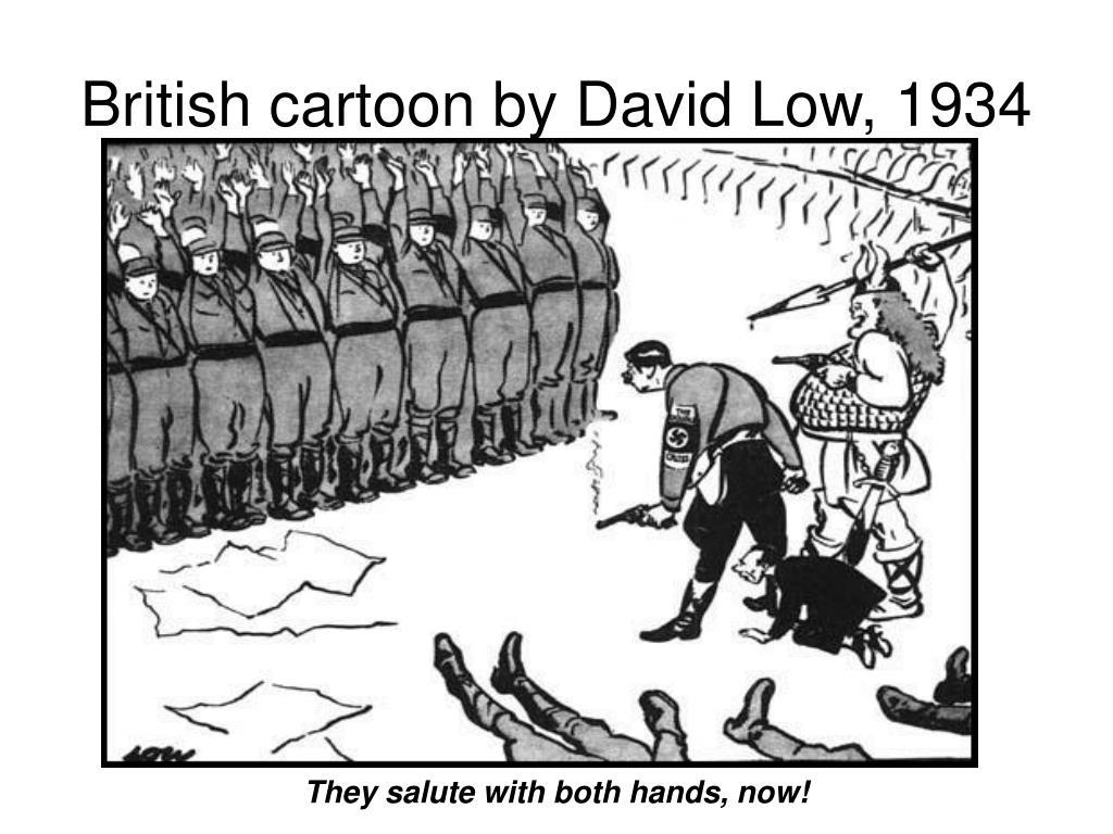 british cartoon by david low 1934 l.