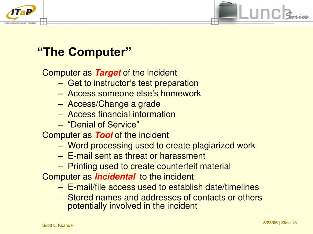"""""""The Computer"""""""