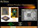 initial product opportunities10