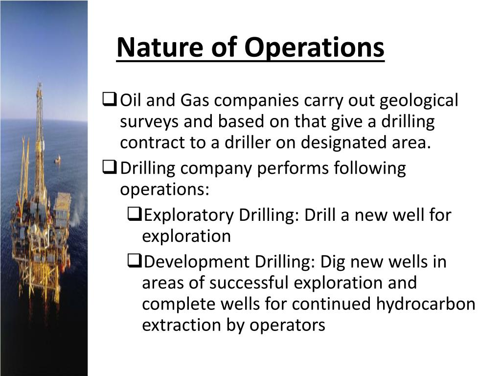 Nature of Operations