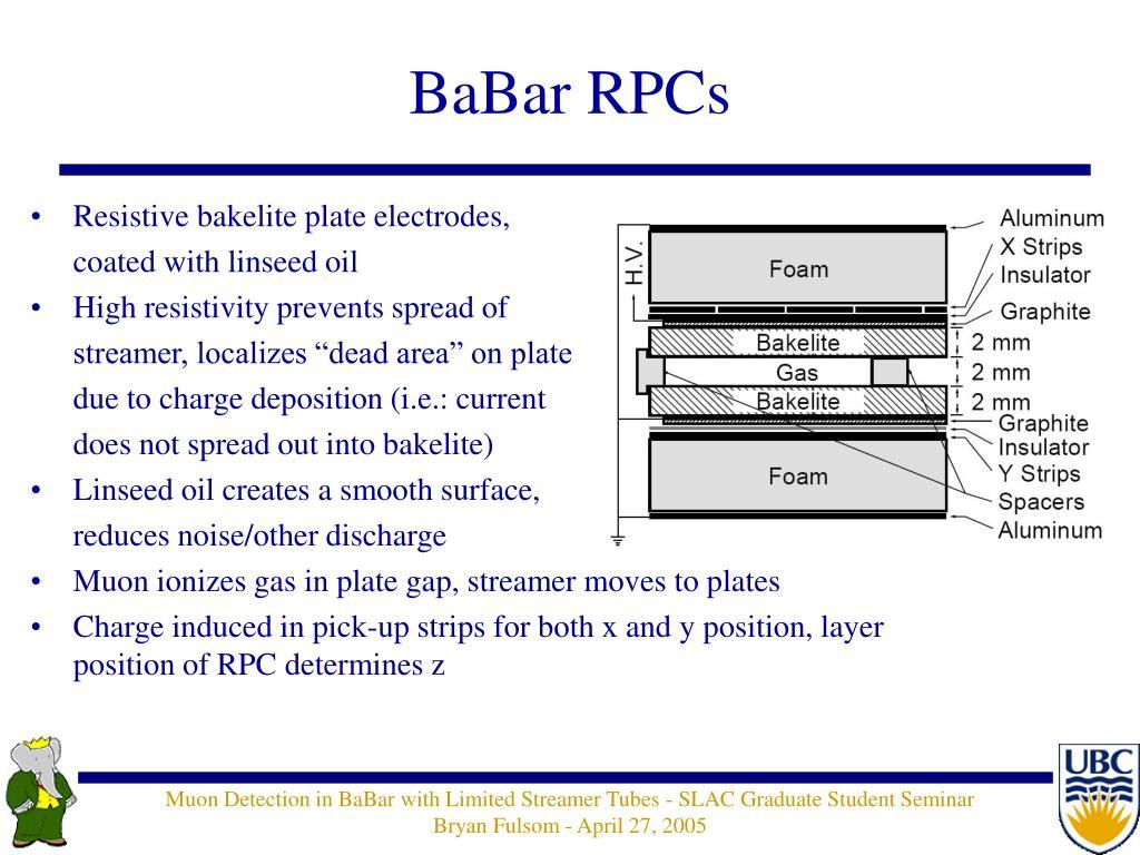 BaBar RPCs
