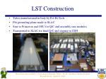 lst construction