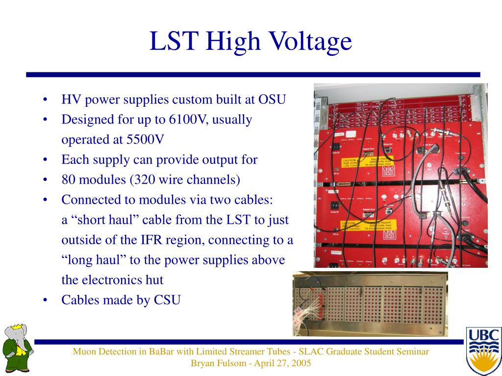 LST High Voltage