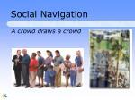 social navigation