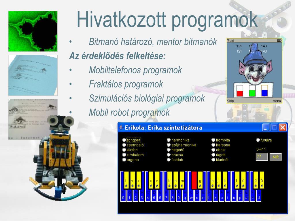 Hivatkozott programok