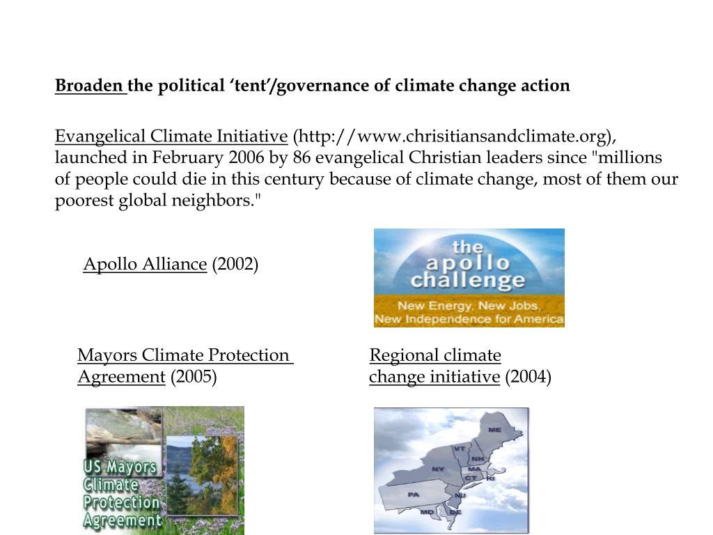 Evangelical Climate Initiative
