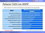 refactor ogsi into wsrf20