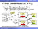 science bioinformatics data mining
