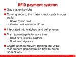 rfid payment systems