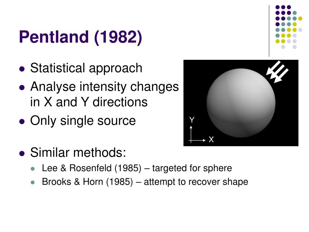 Pentland (1982)