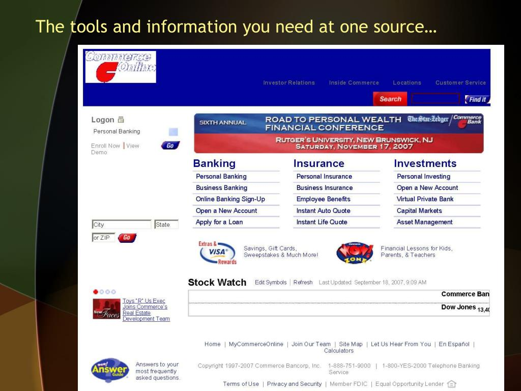 The tools and information you need at one source…