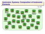 autonomic systems composition of autonomic elements