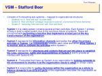vsm stafford beer