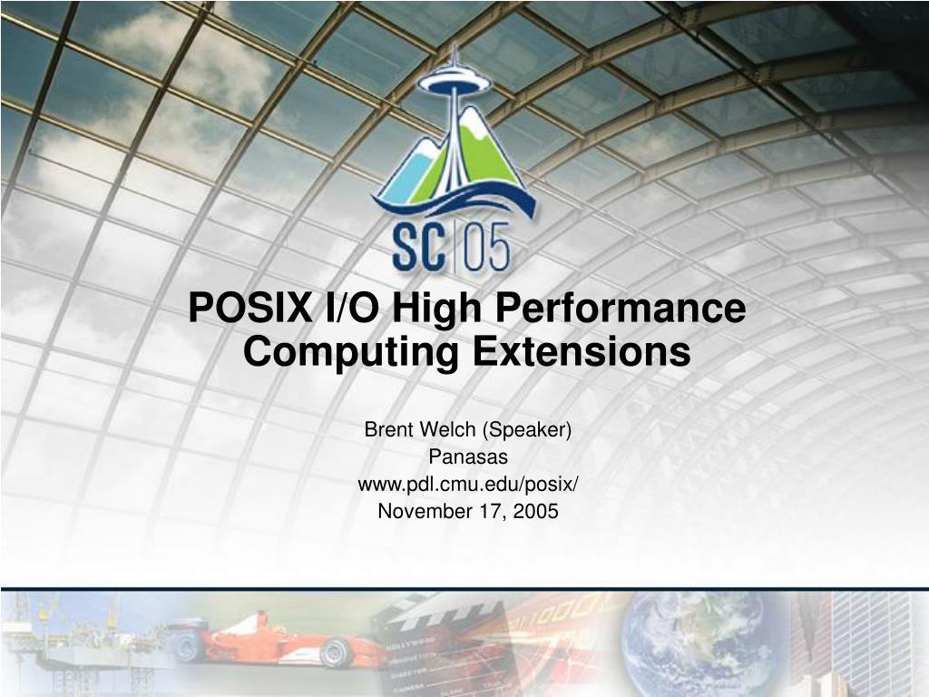 posix i o high performance computing extensions l.