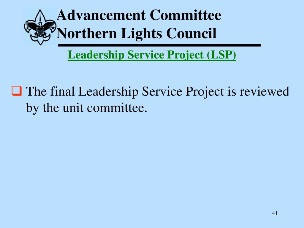 Advancement Committee
