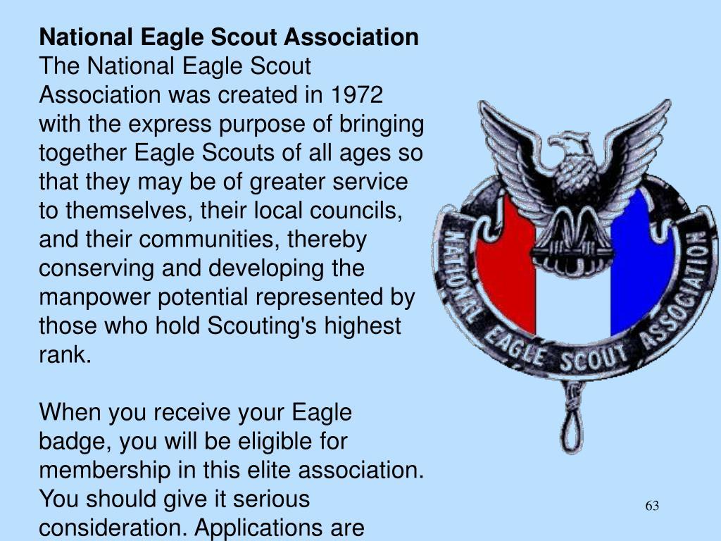National Eagle Scout Association
