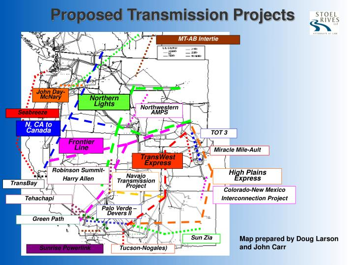 Proposed Transmission Projects