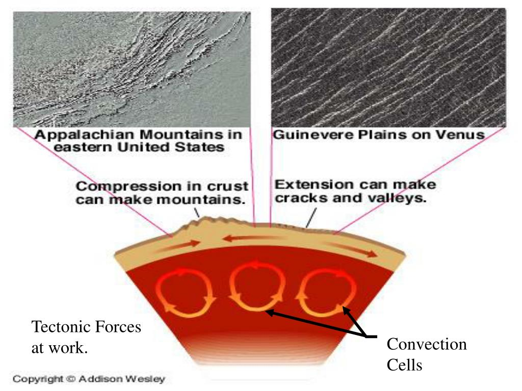 Tectonic Forces at work.