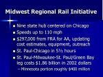 midwest regional rail initiative11