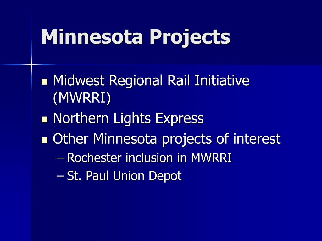 Minnesota Projects