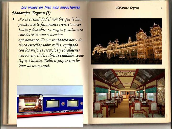 Maharajas express 6