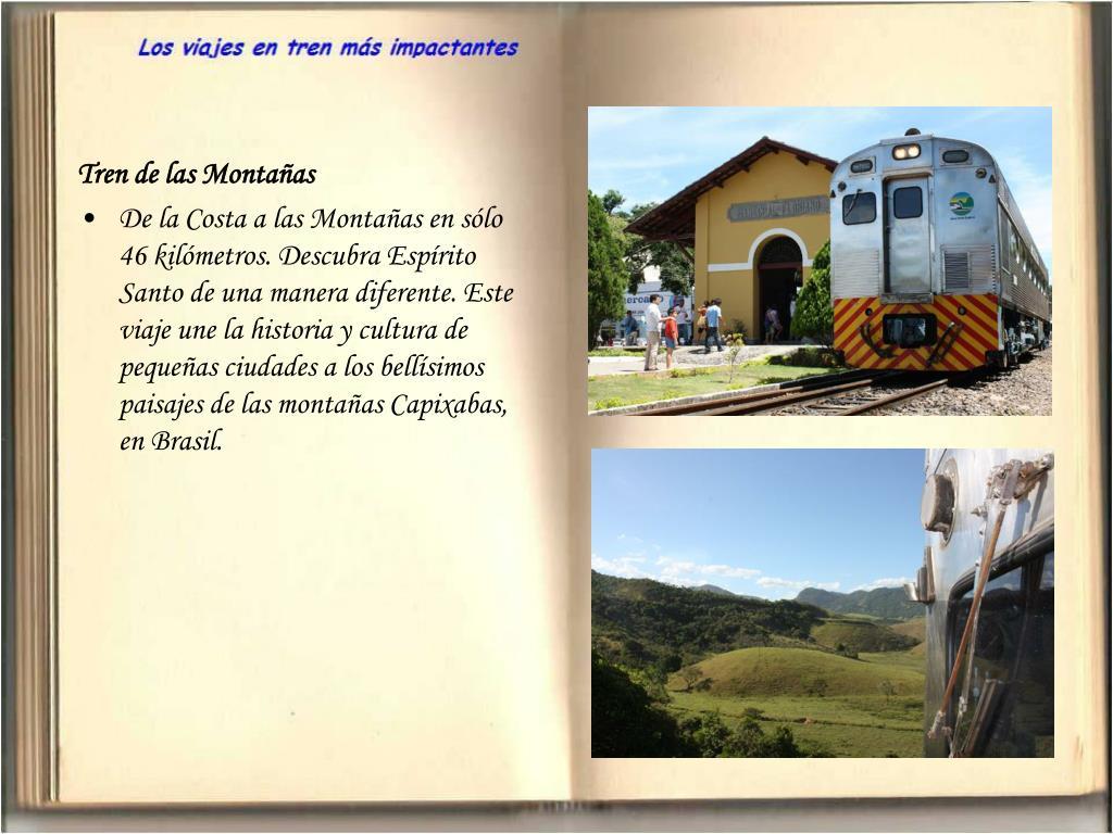 Tren de las Montañas