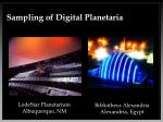 sampling of digital planetaria10