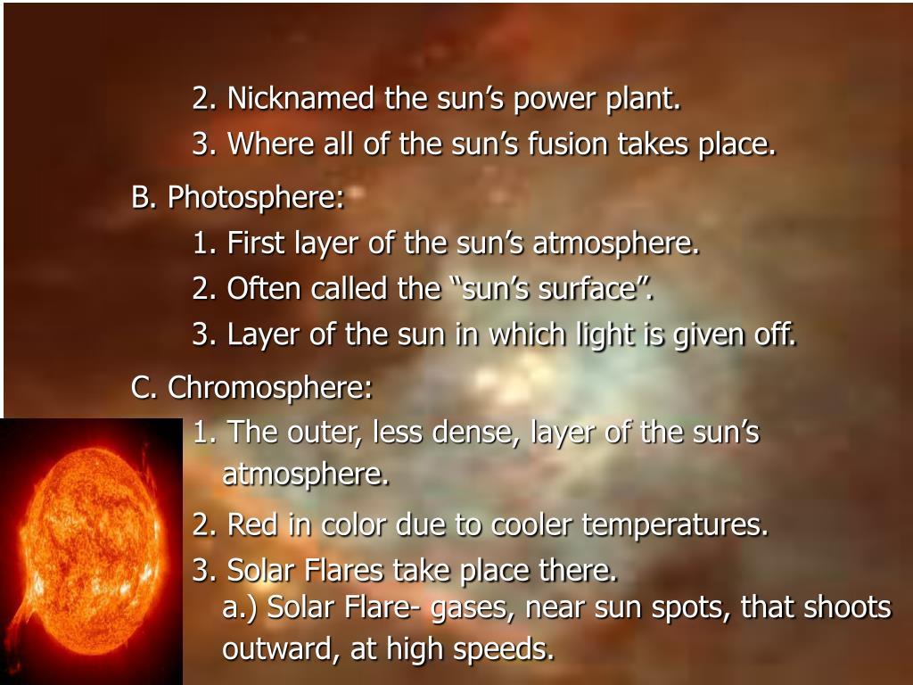 2. Nicknamed the sun's power plant.